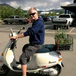 jeffrey bergeron vespa scooter