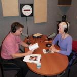 With KCHO-FM's Nancy Wiegman