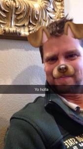snapchat dog filter