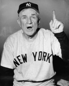 Casey Stengel Yankees
