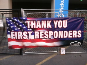 thank you first responders