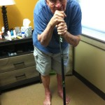 hockey stick cane