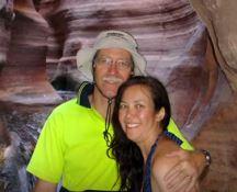 John and Lin Grand Canyon 2011