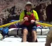John at the oars